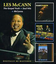 Les McCann - Gospel Truth / Soul Hits / McCanna [New CD] UK - Import