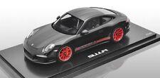 Porsche 911 R ( 991 ) 2016 - schwarz rot / black red - Spark 1:18 - LE 386/500