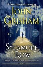 Sycamore Row A Novel Jake Brigance paperback book by John Grisham FREE SHIPPING