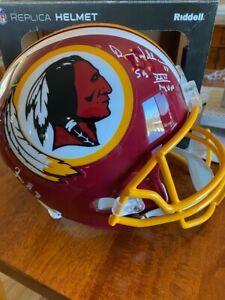 Autographed Signed Full Size Helmet Joe Theismann Doug Williams Mark Rypien JSA