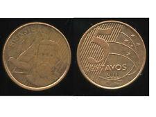 BRESIL  5 centavos  2011