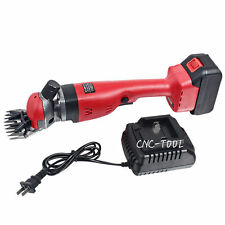 18V Wireless Electric Shearing Supplies Shear Sheep Goats Farm Shears Clipper