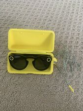 Snap Inc. Snapchat Spectacles Glasses - Onyx Eclipse With Case And Charger
