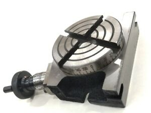 """3"""" Inches / 80 mm High quality Regular Rotary Indexing Table for Milling Machine"""