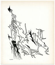 Yves Tanguy original lithograph