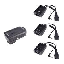 Studio AC-01B Wireless Remote Strobe Flash Trigger (1X Transmitter+3X Receiver)