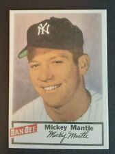 Mickey Mantle New York Yankees 1954 Dan Dee Potato reprint Baseball Card