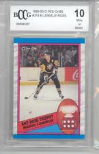 1989-90 O-Pee-Chee Mario Lemieux HOF (Art Ross Trophy) (#319) BCCG10 BCCG
