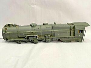 Gilbert American Flyer #313 Factory Replacement Locomotive Shell - Factory Error
