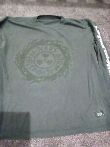 Neds atomic dustbin t shirt xl black kill your television original indie the won