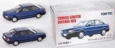 TOMICA LIMITED / TOMYTEC LV-N81c Audi 80 2.0E (B3) blau 1:64