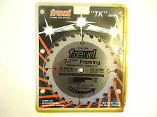 "Freud Framing Blade TK203, 7-7 ¼"", 24 Tooth, Thin Kerf, Anti-Kickback , NEW."