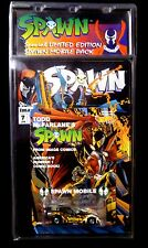 McFarlane Toys Spawn #7 Comic + 1/64 Scale diecast Hot Wheels Spawnmobile car