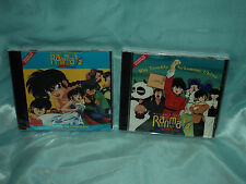 Ranma 1/2 Movie OST 1 & 2  CD Soundtracks US release (lot of 2 CDs) *new/sealed*