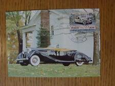 25/06/1984 Motor Car: Auto100 Postcard - Duesenberg SJ 1932 [Stamped/Franked: St