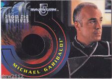 THE COMPLETE BABYLON 5 C4 JERRY DOYLE MICHAEL GARIBALDI COSTUME CARD