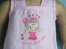 """'Lovely Princess"""" Pink Tank Dress, Cropped Jacket & Tote fits all American Girl"""