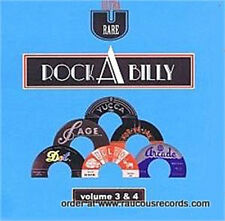 ULTRA RARE ROCKABILLY Volumes 3 & 4 DOUBLE CD 1950s wild Rock 'n' Roll 2-CD