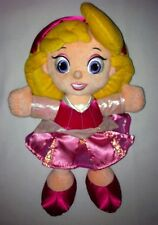 "Disney Parks Princess Aurora Sleeping Beauty 11"" Soft Stuffed Doll Toy Lovey"