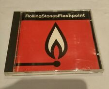 Flashpoint by the Rolling Stones Music CD 1991 Live performances Steel Wheels