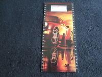 1990 1991 Porsche Owners Driving School Foldout Brochure 911 Turbo 928 Catalog