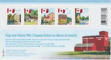 CANADA 2010 Souvenir Sheet #2350 Permanent: Flag Over Mills