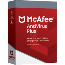 McAfee Antivirus Plus 2019 6 Months  KEY Instant Email Delivery - 1 Device