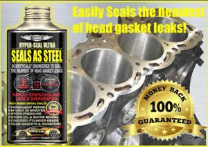 HYPER-SEAL ULTRA , SEALS AS STEEL - HEAVIEST HEAD GASKET LEAKS REPAIR ALL CARS.
