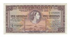 Bermuda - Five (5) Shillings, 1957