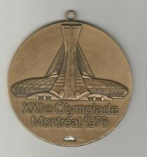 remembrance medal  Olympic Games MONTREAL 1976  -  8 cm  !!  VERY RARE