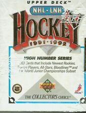 1991-92 UD UPPER DECK HIGH HOCKEY FACTORY SET CASE (50)