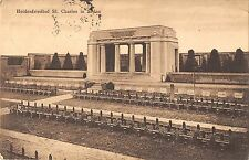 BR55590 Heldenfriedhof St CHarles in Sedan france