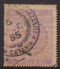 (Q5-90) 1885 Italy 3fiscals fine used