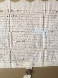 1598 English Land Indenture