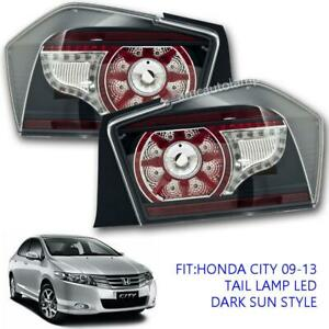 Fit 2008 09 10 11 12 13 14 Gm2 Gm3 Honda City Tail Lamp Led Tail light Smoke Red