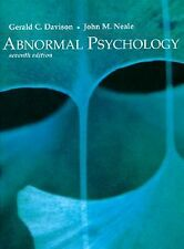 Abnormal Psychology by Gerald C. Davison and John M. Neale (1997, Hardcover)