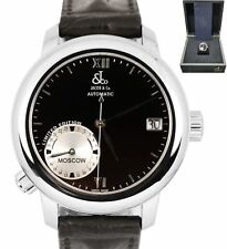 Men's Jacob & Co. World GMT Stainless Steel Automatic 47.5mm Date Black Watch