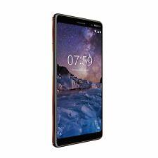 Nokia 7 Plus - 64GB 16MP 4GB Ram Black Copper Unlocked Smartphone