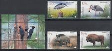 "MOLDOVA 2018 Fauna Nature Reserve ""Royal Forest"".Birds. Set MNH"