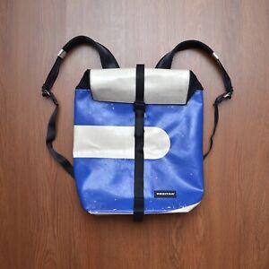 Freitag F155 Clapton Rucksack Backpack White Blue