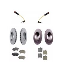 Mercedes W203 C230 Disc Brake Rotor Kit with Brake Pads and Sensors Meyle NEW