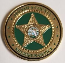OSCEOLA COUNTY FLORIDA FL SHERIFF'S OFFICE POLICE CHALLENGE COIN