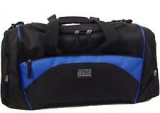 Holdall Sports Gym Exercise Weekend Overnight Bag Black Blue Mens Mans Ladies