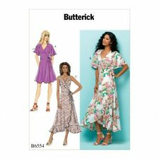 Butterick Sewing Pattern 6554 Dresses E5 (14-16-18-20-22)