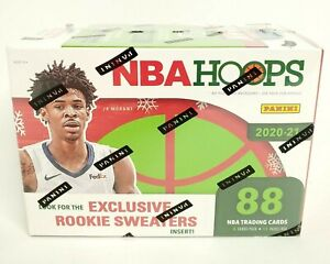 2020-2021 NBA Hoops Panini Blaster Box 88 Cards Exclusive Rookie Sweaters Insert