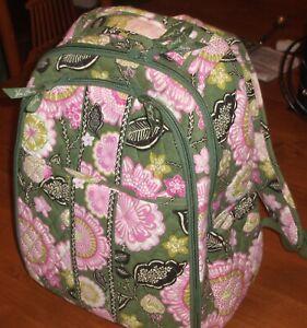 Vera Bradley Backpack Baby Bag Olivia Pink Floral Nice
