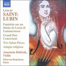 Léon de Saint-Lubin: Virtuoso Works for Violin, Vol. 1, New Music
