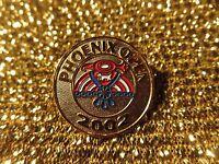 Phoenix Open 2002 PGA Golf Tournament Scottsdale Arizona Gold Pin NEW