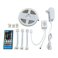 NEW LUMINAR INDOOR 12Ft. LED TAPE LIGHTS -REMOTE CONTROL, 20 CLORS FREE SHIP