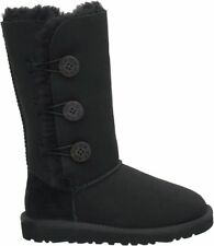 UGG Black Bailey triple button boots size 10W